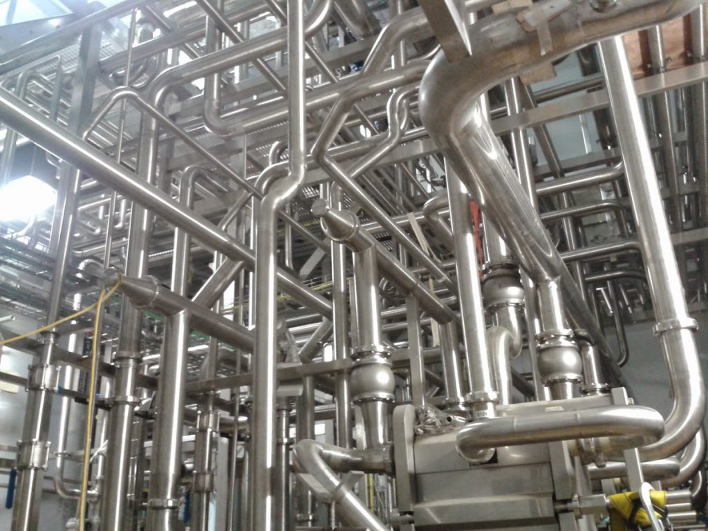 Stainless Steel Pipes Applications