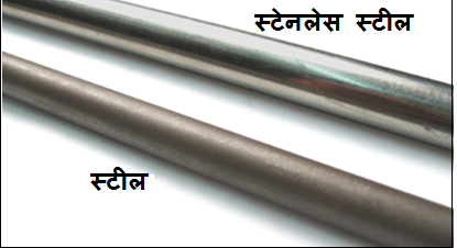 Difference between Stainless Steel and Mild Steel
